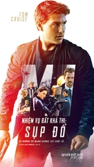 Mission: Impossible - Fallout - Vietnamese Movie Poster (xs thumbnail)