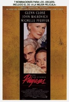 Dangerous Liaisons - Spanish Theatrical movie poster (xs thumbnail)