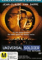 Universal Soldier 2 - New Zealand DVD movie cover (xs thumbnail)