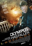 Olympus Has Fallen - Lebanese Movie Poster (xs thumbnail)