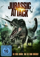 Jurassic Attack - German DVD cover (xs thumbnail)