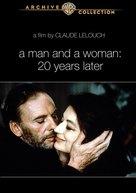 Un homme et une femme, 20 ans déjà - DVD cover (xs thumbnail)