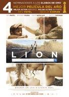 Lion - Spanish Movie Poster (xs thumbnail)