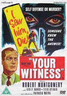 Your Witness - British DVD cover (xs thumbnail)