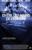 In Enemy Hands - French VHS cover (xs thumbnail)