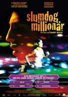 Slumdog Millionaire - German Movie Poster (xs thumbnail)