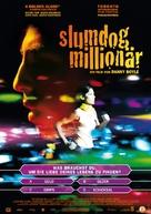 Slumdog Millionaire - German Movie Poster (xs thumbnail)