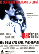 Basic Instinct - Dutch Movie Poster (xs thumbnail)