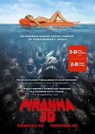 Piranha - Latvian DVD movie cover (xs thumbnail)