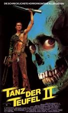 Evil Dead II - German Movie Poster (xs thumbnail)