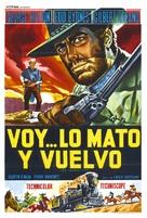 Vado... l'ammazzo e torno - Spanish Movie Poster (xs thumbnail)