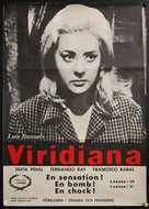 Viridiana - Swedish Movie Poster (xs thumbnail)
