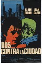 Deux hommes dans la ville - Argentinian Movie Poster (xs thumbnail)