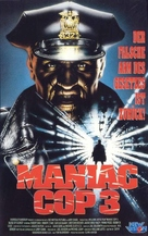 Maniac Cop 3: Badge of Silence - German Movie Cover (xs thumbnail)