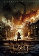 The Hobbit: The Battle of the Five Armies - Italian Movie Poster (xs thumbnail)