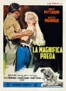 River of No Return - Italian Re-release movie poster (xs thumbnail)