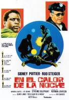 In the Heat of the Night - Spanish Movie Poster (xs thumbnail)