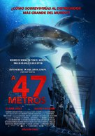 47 Meters Down - Chilean Movie Poster (xs thumbnail)