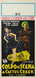 Curtain Call at Cactus Creek - Italian Movie Poster (xs thumbnail)