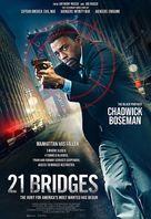 21 Bridges - Philippine Movie Poster (xs thumbnail)