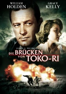 The Bridges at Toko-Ri - German DVD cover (xs thumbnail)