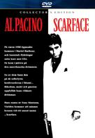 Scarface - Swedish DVD movie cover (xs thumbnail)