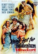 Mister Roberts - German Movie Poster (xs thumbnail)