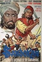 Sandokan contro il leopardo di Sarawak - Italian Movie Poster (xs thumbnail)