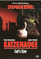 Cat's Eye - German DVD movie cover (xs thumbnail)