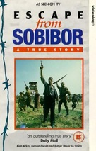 Escape From Sobibor - British VHS cover (xs thumbnail)