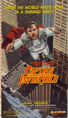 The Return of Captain Invincible - VHS cover (xs thumbnail)