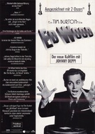 Ed Wood - German Movie Poster (xs thumbnail)