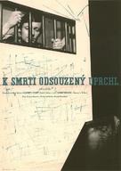 Un condamné à mort s'est échappé ou Le vent souffle où il veut - Czech Movie Poster (xs thumbnail)