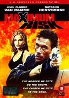 Maximum Risk - British DVD movie cover (xs thumbnail)