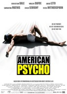 American Psycho - German Movie Poster (xs thumbnail)