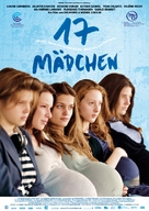 17 filles - German Movie Poster (xs thumbnail)