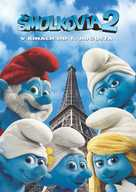 The Smurfs 2 - Slovak Movie Poster (xs thumbnail)
