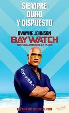 Baywatch - Spanish Movie Poster (xs thumbnail)