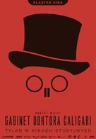 Das Cabinet des Dr. Caligari. - Polish Movie Poster (xs thumbnail)