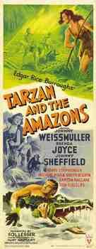 Tarzan and the Amazons - Movie Poster (xs thumbnail)