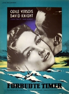 The Young Lovers - Danish Movie Poster (xs thumbnail)