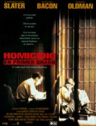 Murder in the First - Spanish Movie Poster (xs thumbnail)