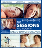 The Sessions - Italian Blu-Ray movie cover (xs thumbnail)