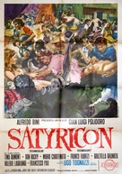 Satyricon - Italian Movie Poster (xs thumbnail)