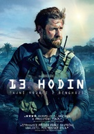 13 Hours: The Secret Soldiers of Benghazi - Czech DVD movie cover (xs thumbnail)