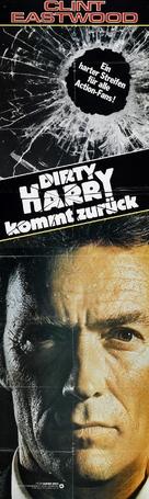 Sudden Impact - German Movie Poster (xs thumbnail)