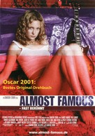 Almost Famous - German Theatrical poster (xs thumbnail)