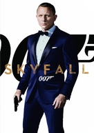 Skyfall - DVD movie cover (xs thumbnail)