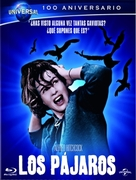 The Birds - Spanish Blu-Ray movie cover (xs thumbnail)