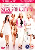 Sex and the City - British DVD movie cover (xs thumbnail)